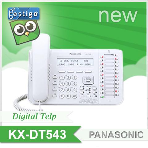 Foto Produk Telepon Digital Panasonic Large Display KX-DT543 dari BESTIGO PABX TELEPON