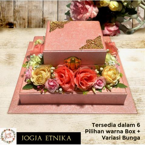 Foto Produk Tempat Cincin Pernikahan / Box Mahar Pernikahan - Box Polos dari Jogja Etnika