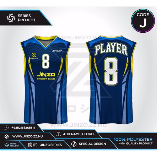 Foto Produk Jersey Custom Basket J dari Jersey Series