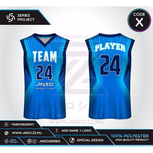 Foto Produk Jersey Custom Basket X dari Jersey Series