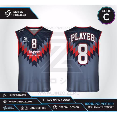 Foto Produk Jersey Custom Basket C dari Jersey Series