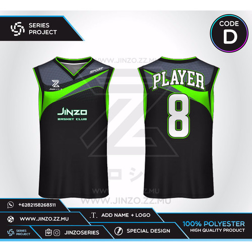 Foto Produk Jersey Custom Basket D dari Jersey Series