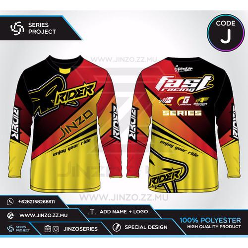 Foto Produk Jersey Custom Sepeda MTB Downhill J dari Jersey Series