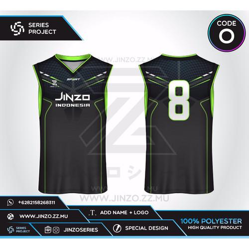 Foto Produk Jersey Custom Basket O dari Jersey Series