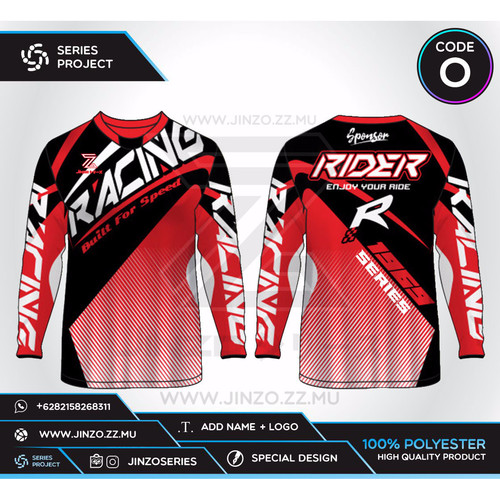 Foto Produk Jersey Custom Sepeda MTB Downhill O dari Jersey Series
