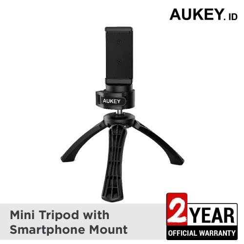 Foto Produk Aukey Holder Mini Tripod with Smartphone Mount - 500237 dari AUKEY