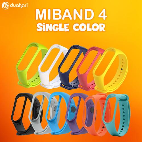 Foto Produk MIJOBS Silicone Strap MiBand 4 Replacement Tali miband Bracelet - Yellow dari Dua Hari Jakarta
