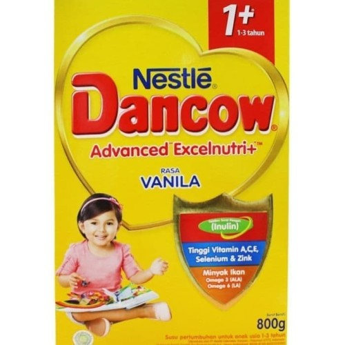 Foto Produk DANCOW 1+ VANILLA 800 GR dari HAPPIEST EVER
