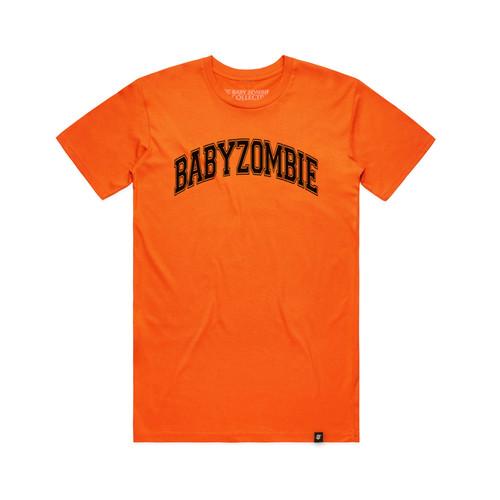 Foto Produk SALE! College Orange Tshirt - M dari Baby Zombie Co.
