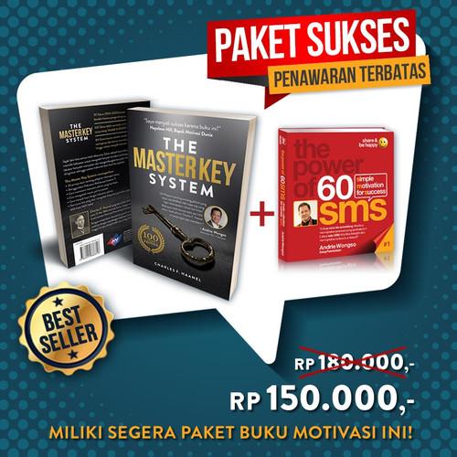 Foto Produk Paket Buku Motivasi Master Key System dan Power of 60 SMS #1 dari Andrie Wongso Shop