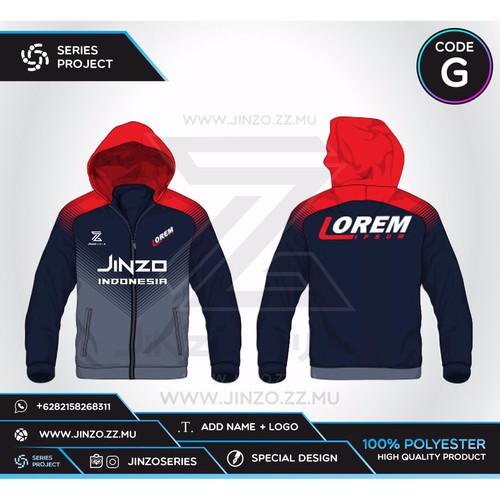 Foto Produk Jaket Custom Sport Code G dari Jersey Series