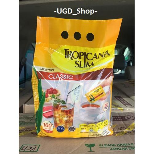 Foto Produk Tropicana Slim (Sweetener) Gula Pemanis Rendah Kalori 160 dari UGD Shop