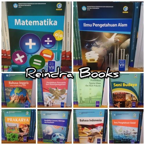 Foto Produk Buku paket diknas SMP kelas 7 k13 dari reindra qinasih
