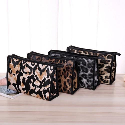 Foto Produk ( New Trend ) Tas Kosmetik Makeup Multifungsi Anti Air Motif Leopard dari presbytiscristata shop