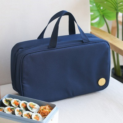 Foto Produk ( New Trend ) Tas Insulasi Portable Bahan Kain Oxford Aluminium Foil dari presbytiscristata shop