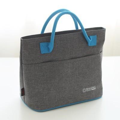 Foto Produk ( New Trend ) Tas Kotak Makan Siang Portabel dengan Bahan Alumunium T dari presbytiscristata shop