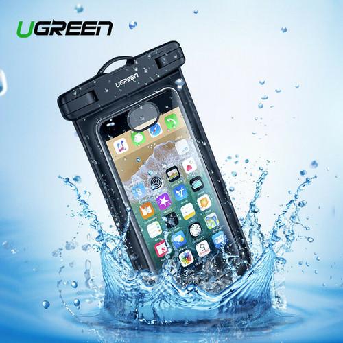 Foto Produk UGREEN CASE WATERPROOF CASING ANTI AIR UNIVERSAL IPHONE X 8 SAMSUNG S9 dari teddyscamera