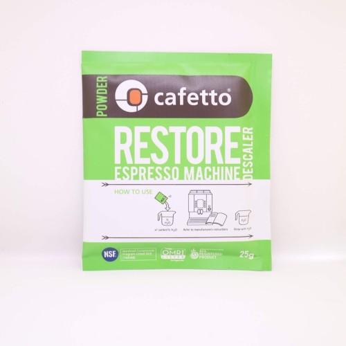 Foto Produk Cafetto Restore Machine Descaler 25g Sachet dari Bangala Coffee Jkt