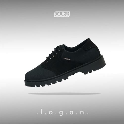 Foto Produk LOGAN BLACK SADDLE BOOT dari Routes Shoes