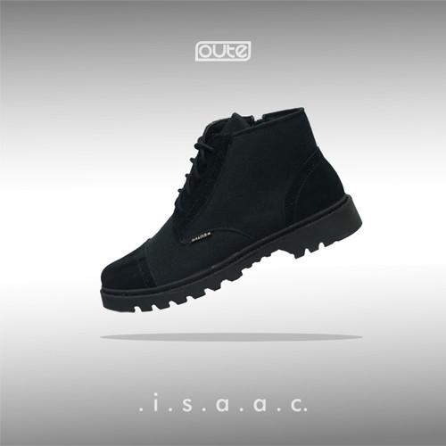 Foto Produk ISAAC BLACK CAPTOE BOOTS dari Routes Shoes
