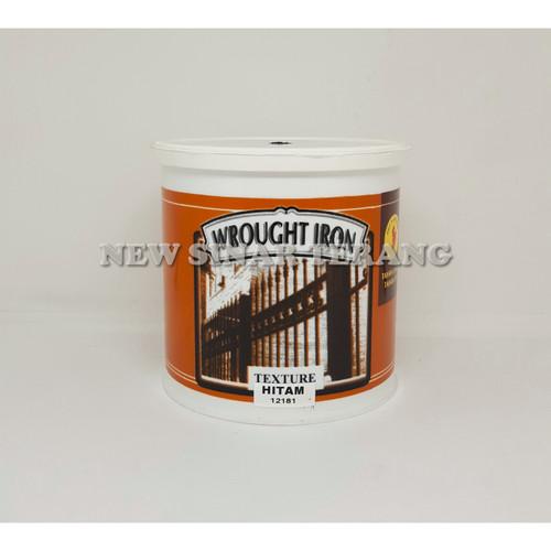 Foto Produk Cat Neo Alkycoat Texture Hitam 1 Kg dari New Sinar Terang