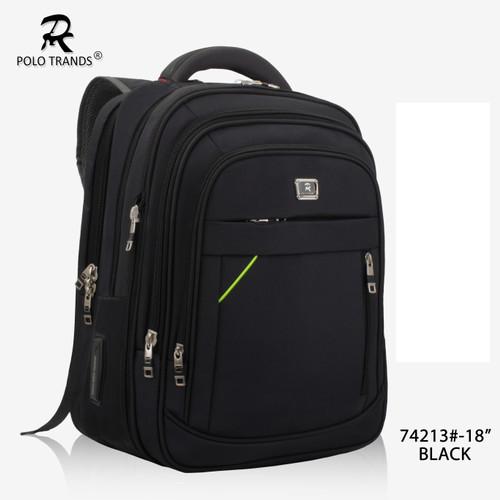Foto Produk Backpack Polo Trands Ukuran Besar Original Quality-74213-36L - Hitam dari Polo Trands Official