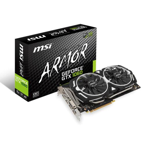 Foto Produk MSI GeForce GTX 1060 6GB DDR5 - Armor 6G OC V1 dari GateTech