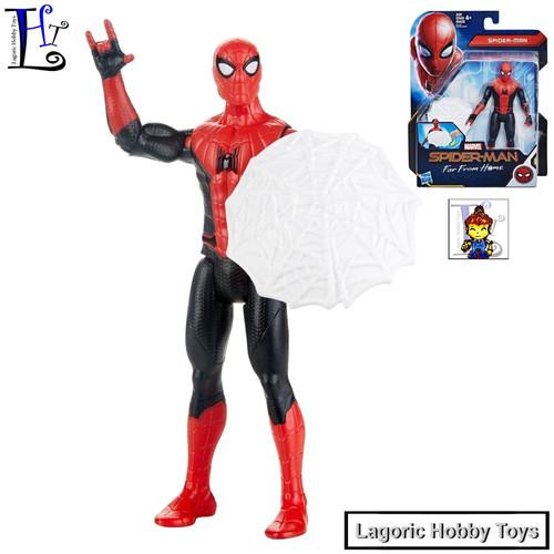 Foto Produk Marvel 6inch Basic Spiderman Web Shield [Spider-man FFH] Hasbro dari Lagoric Hobby Toys