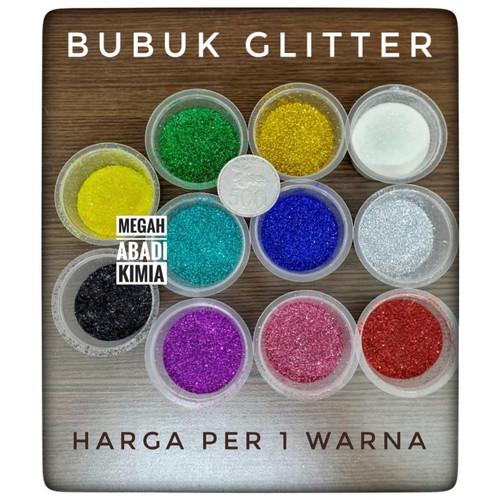 Foto Produk Bubuk glitter / glitter powder / serbuk glitter / 10 gram - Black dari Megah Abadi Chem