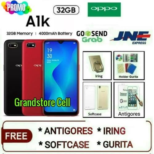 Foto Produk OPPO A1K RAM 2/32GB GARANSI RESMI OPPO INDONESIA - Merah dari Grandstore cell