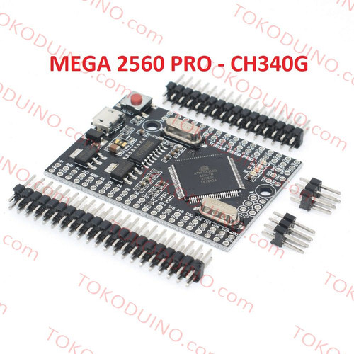 Foto Produk MEGA 2560 PRO CH340G EMBED ARDUINO MEGA 2560 COMPATIBLE MODULE BOARD dari Tokoduino