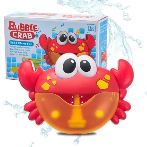 Foto Produk Mainan Mandi Anak Bubble Crab / Mainan Busa Balon Anak Bubble Crab dari OyaOna Shop