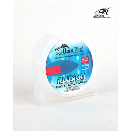 Foto Produk Duraking Illusion Fluorocarbon 15 Lbs - 25 Meter dari Duraking Outdoor&Sports
