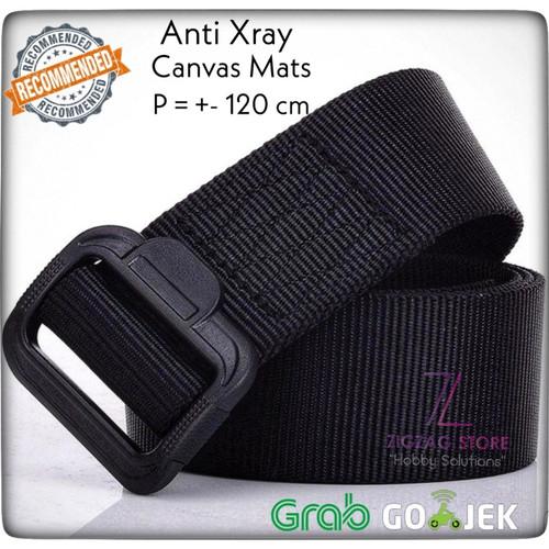 Foto Produk Tali Ikat Pinggang Anti Xray Canvas Non Buckle dari ZigZag-Store