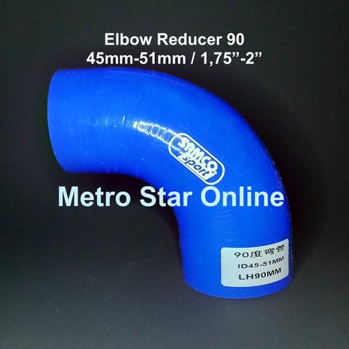 """Foto Produk Samco Elbow Reducer 90 / 1,75"""" - 2"""" dari Metro Star Online"""