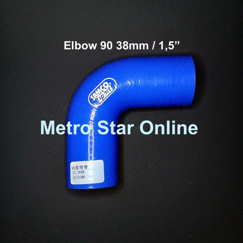 "Foto Produk Samco Elbow 90 1,5"" dari Metro Star Online"