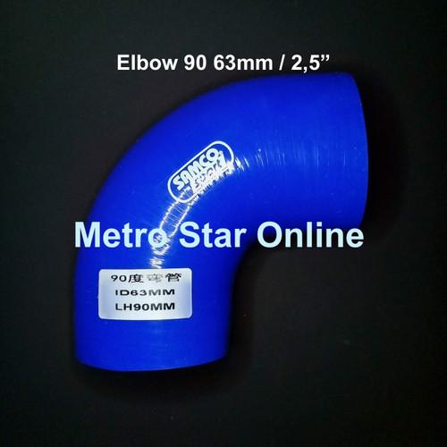 "Foto Produk Samco Elbow 90 2,5"" dari Metro Star Online"