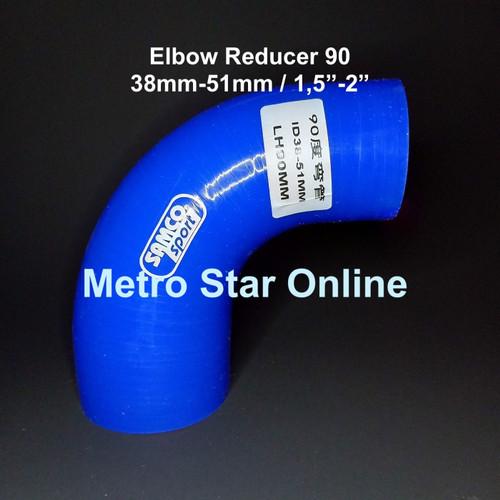 """Foto Produk Samco Elbow Reducer 90 / 1,5"""" - 2"""" dari Metro Star Online"""