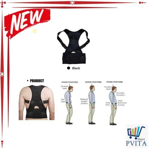 Foto Produk Kode : SALE Belt Magnetic Terapi Koreksi Postur Punggung - T025 dari Net Mall