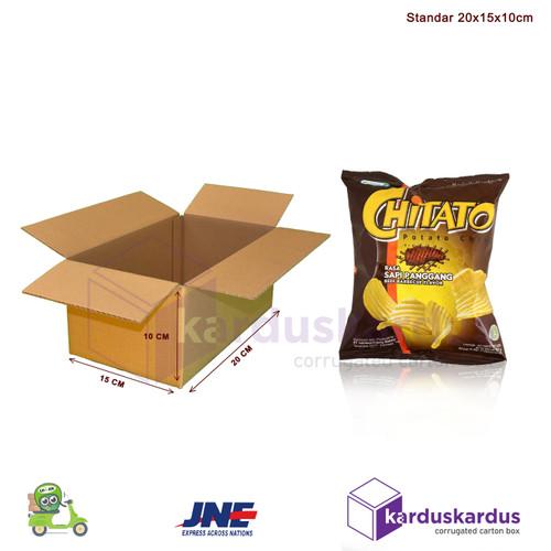Foto Produk KARDUS | BOX | KARTON PACKING ( 20 x 15 x 10 ) dari Nagi Snack