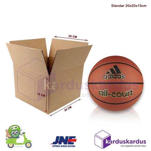 Foto Produk KARDUS | BOX | KARTON PACKING ( 20 x 20 x 15 ) dari Nagi Snack