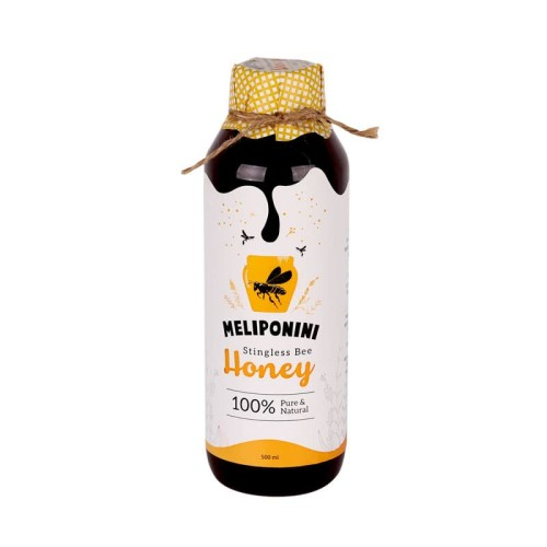 Foto Produk Meliponini - Stingless Bee Honey - Madu Organik - Madu Propolis 500 ML dari Jagapati