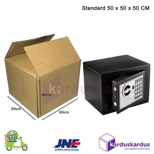 Foto Produk KARDUS   BOX   KARTON PACKING ( 50 x 50 x 50 ) JUMBO BESAR DAN KOKOH dari karduskardus