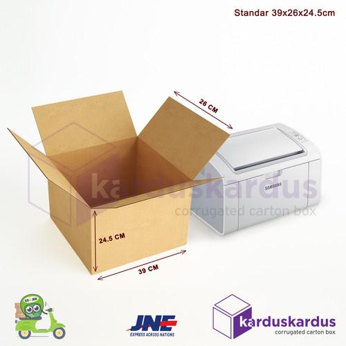 Foto Produk Kardus - Karton - Box Polos - 39x26x24.5 dari karduskardus