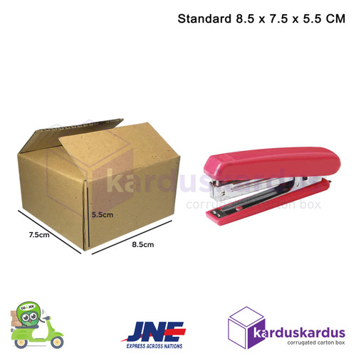 Foto Produk KARDUS   BOX   KARTON PACKING ( 8.5 x 7.5 x 5.5 ) dari karduskardus
