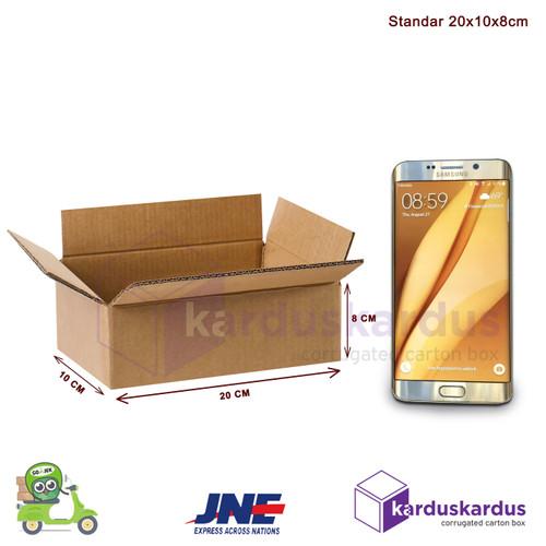 Foto Produk Kardus - Karton - Box Polos - 20x10x8 dari karduskardus