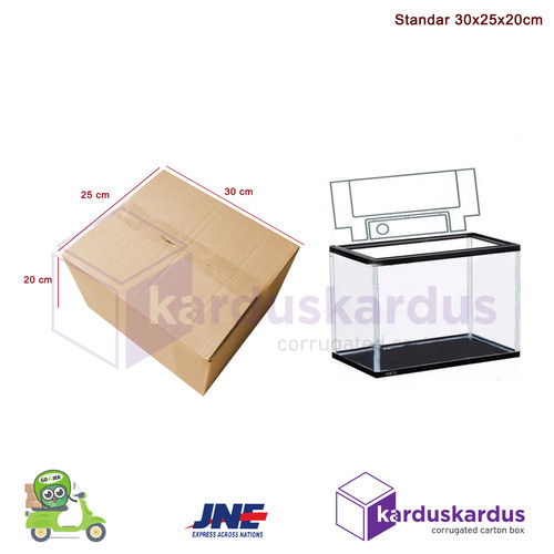 Foto Produk KARDUS | BOX | KARTON PACKING (30 x 25 x 20 ) dari karduskardus