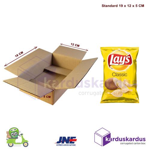 Foto Produk KARDUS | BOX | KARTON PACKING ( 19 x 12 x 5 ) dari karduskardus