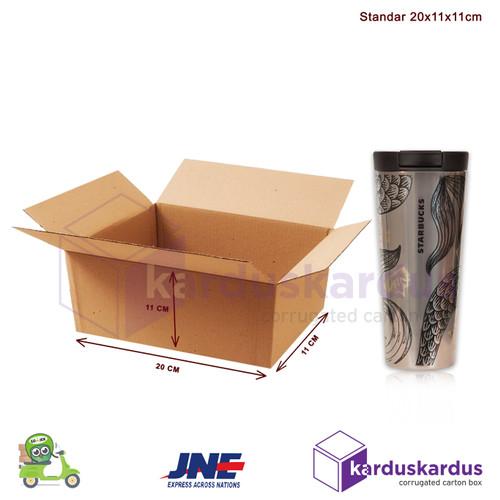 Foto Produk KARDUS | BOX | KARTON PACKING ( 20 x 11 x 11 ) dari karduskardus