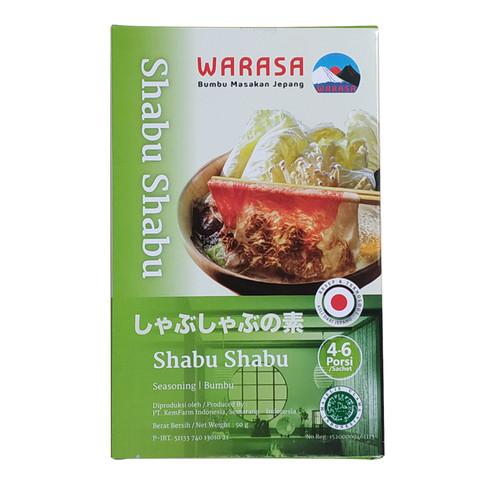 Foto Produk Warasa Shabu Shabu 50 Gr 100% Halal No MSG dari FingerLand